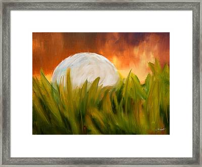 Endless Pursuit Framed Print by Lourry Legarde