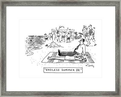 Endless Summer IIi Framed Print by Mike Twohy