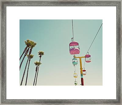 Endless Summer - Santa Cruz, California Framed Print