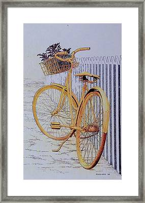 Endless Summer Framed Print by Tony Ruggiero