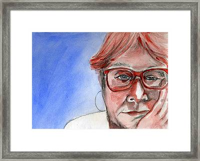 Endless Waiting Framed Print by Gila Rayberg
