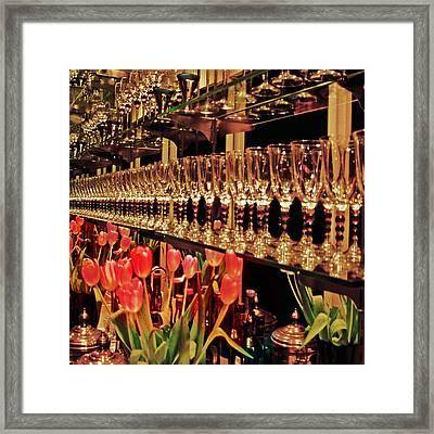 Endless Wine Bar Framed Print