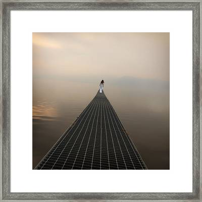 Endlessly Framed Print by Joana Kruse