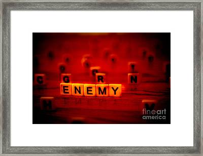 Enemy Framed Print