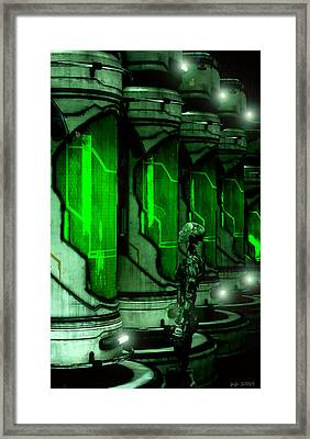 Enemy Me Framed Print