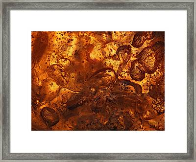 Energetic Framed Print