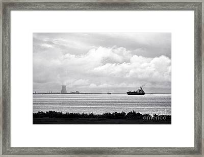 Energies Framed Print by Olivier Le Queinec