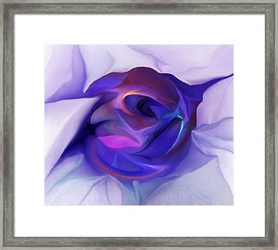 Energing Artist Framed Print by David Lane