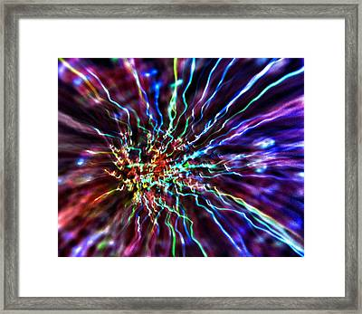 Energy 2 - Abstract Framed Print