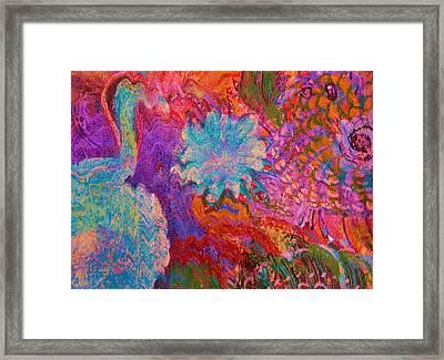 Energy Burst I Framed Print by Anne-Elizabeth Whiteway
