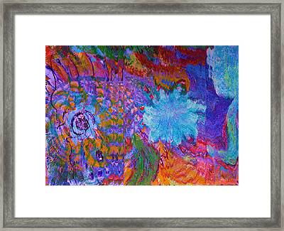 Energy Burst II Framed Print by Anne-Elizabeth Whiteway