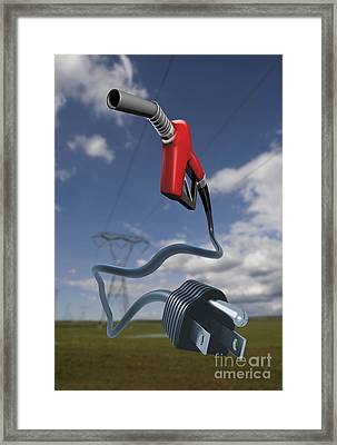 Energy Concept Framed Print