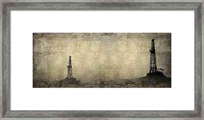 Energy Field Framed Print by Daniel Hagerman