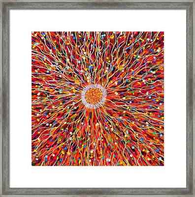 Energy Field Framed Print by Patrick OLeary