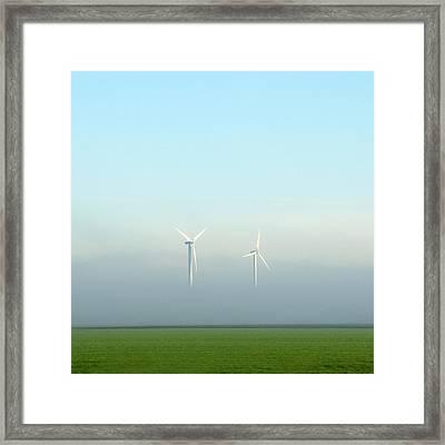 Energy Framed Print by Huib Limberg