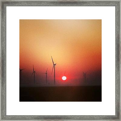 Energy Framed Print by Jake Harral