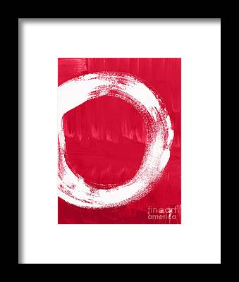 Crimson Framed Prints