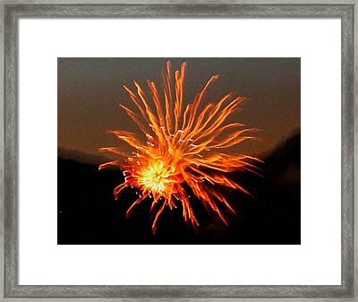 Energy Framed Print by Mavis Reid Nugent