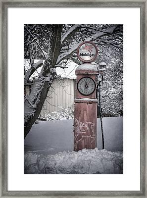 Energy Shortage Framed Print by Joan Carroll