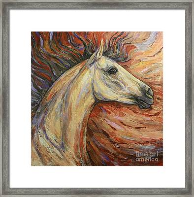 Energy Framed Print by Silvana Gabudean