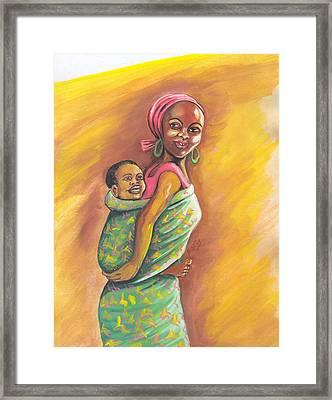 Enfance De Reves Framed Print