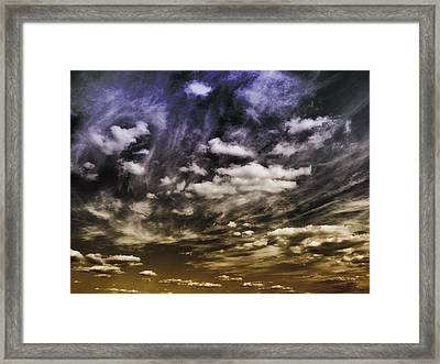 Engage Framed Print by Tom Druin