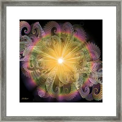 Engaging Framed Print by Michael Durst