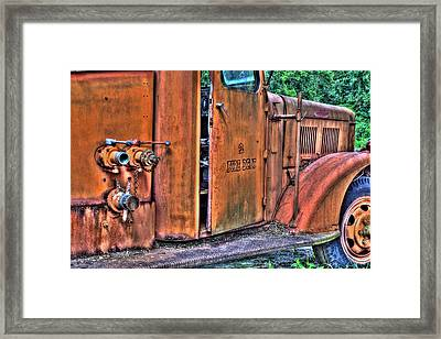 Engine 2 Framed Print