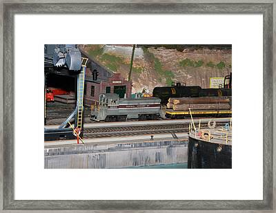 Engine 1010 Framed Print by Hugh McClean
