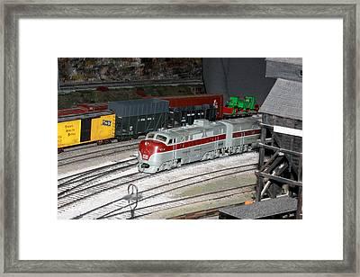 Engine 1046 Framed Print by Hugh McClean