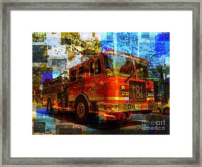 Engine 181 Framed Print by Robert Ball