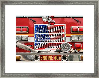 Engine 405 Framed Print by JC Findley