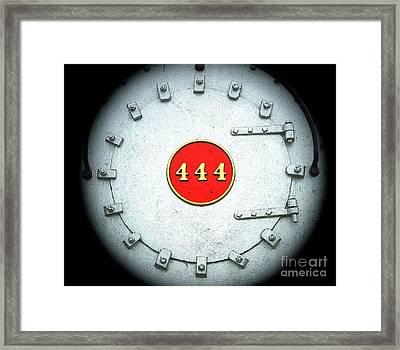 Engine 444 Framed Print by Kim Pate