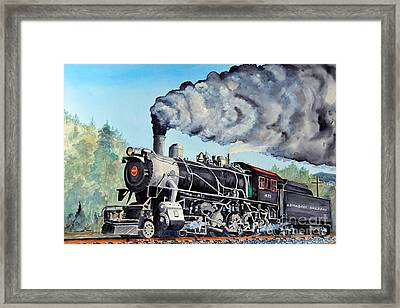 Engine 475 Framed Print