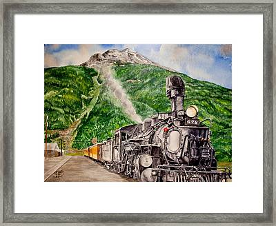 Engine 478 Framed Print by Jessica Tookey