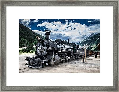 Engine 481 Framed Print by Jim McCain