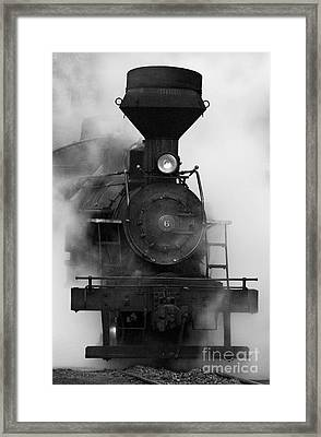 Engine No. 6 Framed Print by Jerry Fornarotto