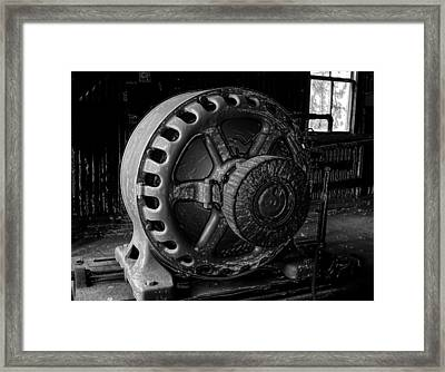 Engine Of A Mad Scientist Framed Print