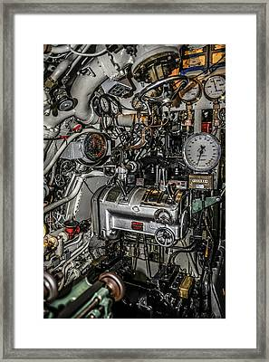 Engine Room Framed Print