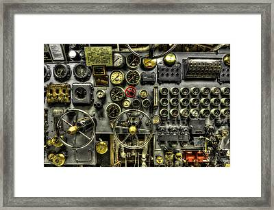 Engine Room Framed Print