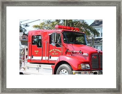 Engine Twenty Framed Print by Carolyn Ricks