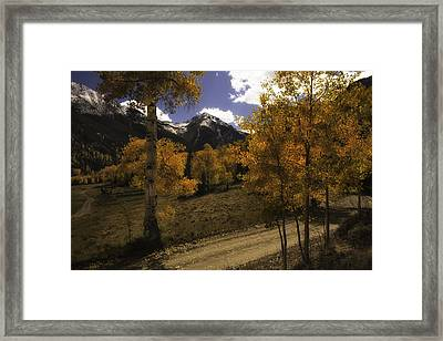 Engineer Pass Framed Print