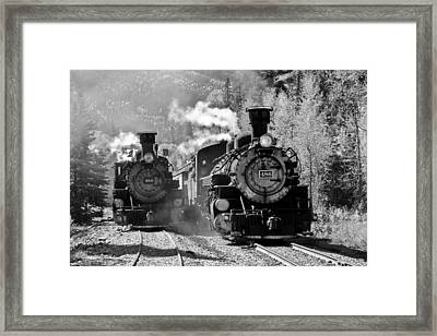 Engines 480 And 486 Framed Print