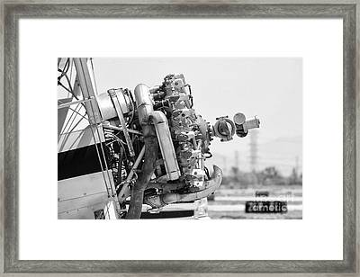 Engines Ready Framed Print by Mkaz Photography