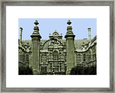England 1986  Disk1 Part2 Snapshot0146a1 Jgibney The Museum Zazzle Gifts Framed Print by The MUSEUM Artist Series jGibney