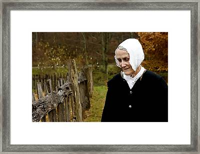 England On The Virginia Frontier Framed Print