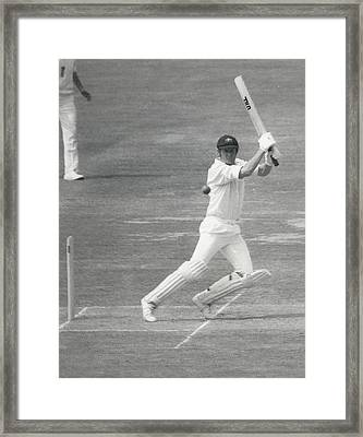 England V Australia At Lords Framed Print by Retro Images Archive