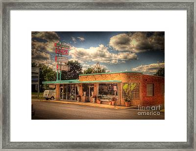 Englewoodcafe4536-4-5 Framed Print by Timothy Bischoff