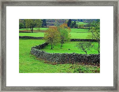 Framed Print featuring the photograph English Autumn by Ranjini Kandasamy