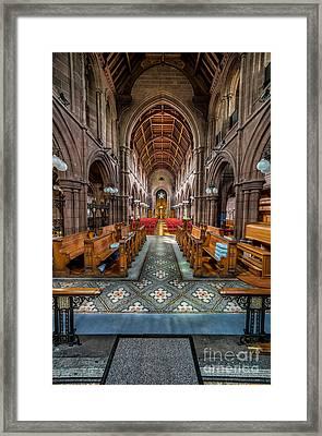 English Church Framed Print